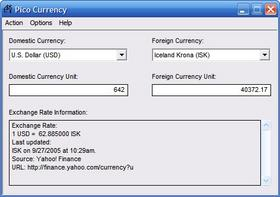 Convertir des devises au taux du jour