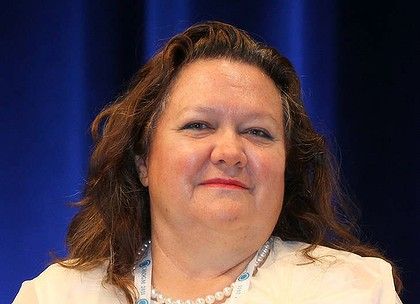 Gina Rinehart, femme plus riche  monde