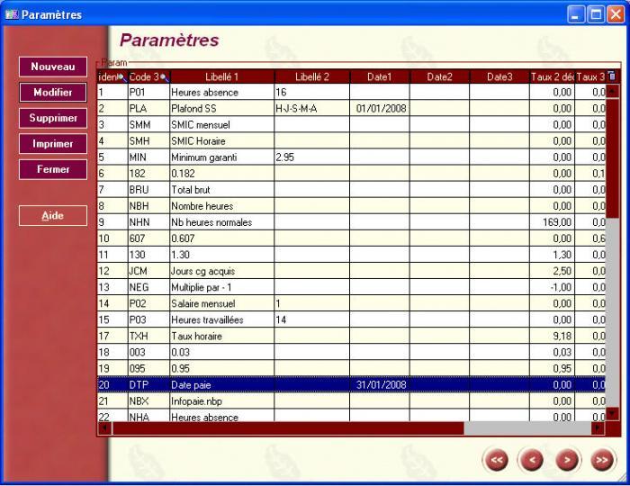 ABZ Paie  logiciel gratuit gestion de paye