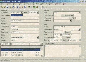 Ams Paye logiciel gratuit gestion de paye