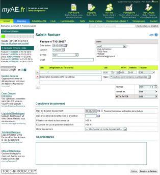 MYAE logiciel auto-entrepreneurs