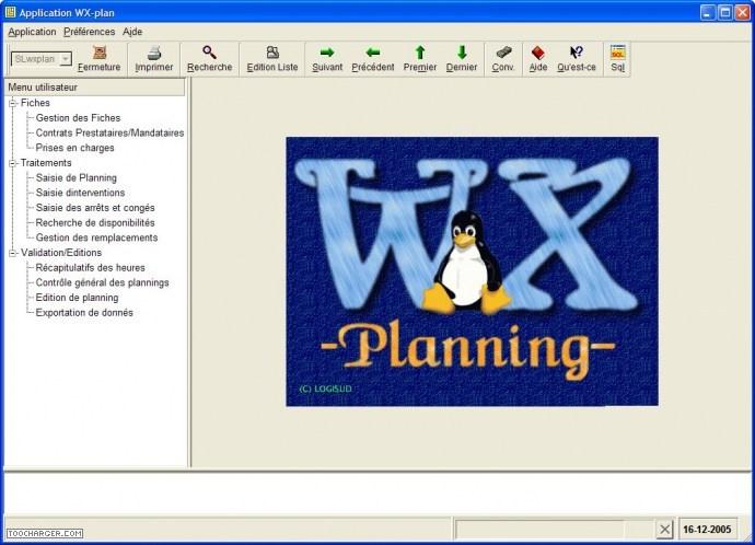 WXPLANNING logiciel gratuit gestion planning